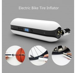 150PSI Bike Electric Inflator Bicycle Cycle Air Pressure Pump Rechargeable Cordless Tire Pump MTB Road Bike Motorcycle Car Air Inflator Power Bank