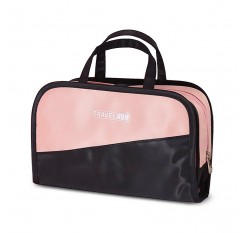 Cosmetic Bag Women Men Makeup Bag Organizer Portable Wash Bag Brush Holder For Business Travel
