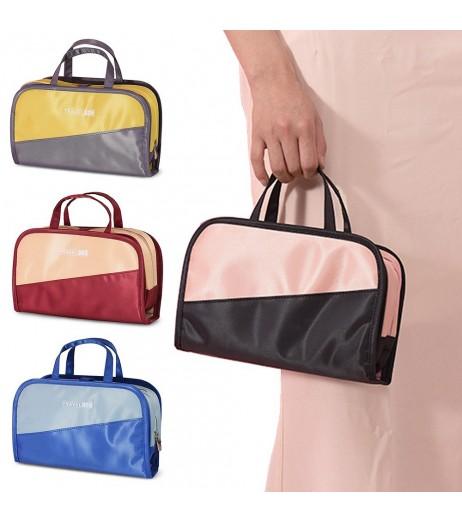 Cosmetic Bag Women Men Makeup Bag Organizer Portable Wash Bag Brush Holder For Business Travel
