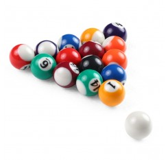 25MM / 38MM Children Billiards Table Balls Set