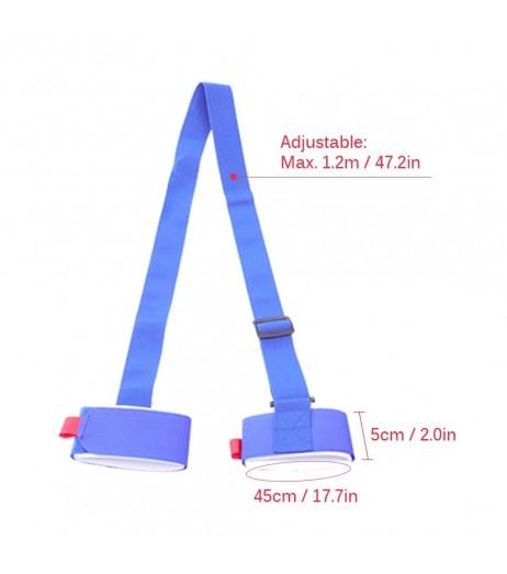 1.2M Ski Carrier Straps Handle Adjustable Snowboard Shoulder Strap Handle Skis Sling Braces