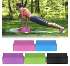 3PCS Yoga Equipment Set Yoga Mat Yoga Blocks Stretching Strap Yoga Beginner Exercise Set with Mat Storage Pouch and Strap