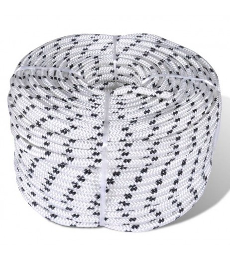 10mm x 50m polyester rope ropes Segeltauwerk mooring
