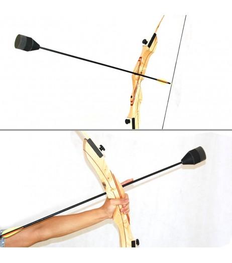 10 PCS Foam Archery Arrowhead Soft Sponge Arrow Heads Archery Arrowheads Tips For Game Practice