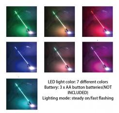 Colorful LED Flashlight Umbrella