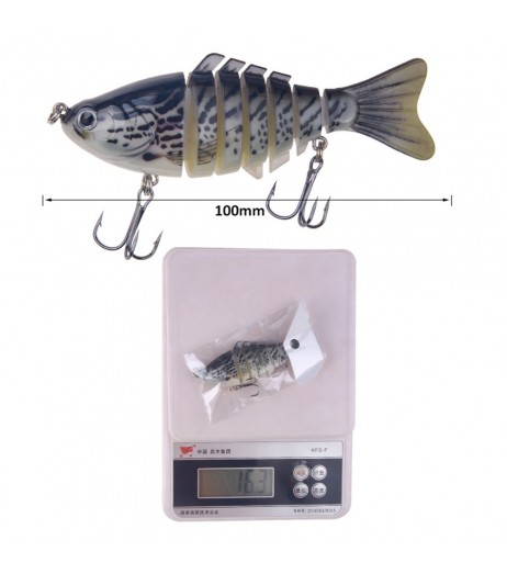 100mm Fishing Lures Articulated Bionic Bait