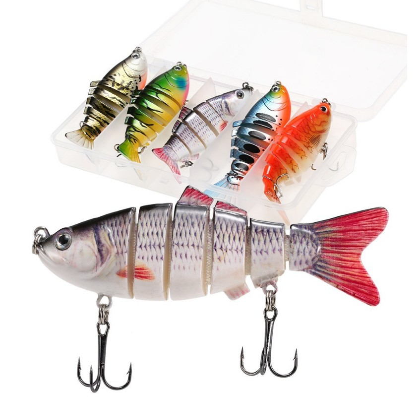 5pcs Fishing Lures Set