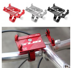 GUB Adjustable Bicycle Phone Mount Holder MTB Mountain Bike Motorcycle Handlebar Clip Stand for 3.5