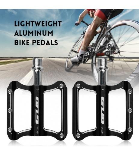 Aluminum Cycling MTB Bike Bicycle Pedals CNC Sealed Bearing Flat Platform Antiskid Bike Pedals