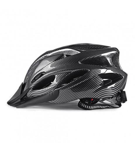 Lightweight Bicycle Helmet with Visor In-mold Mountain Road Bike Cycling Helmet Outdoor Sport Protective Helmet for Men and Women